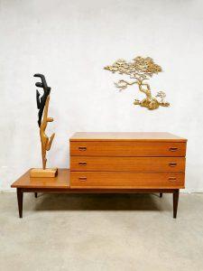 Vintage Danish design cabinet chest of drawers tv meubel ladekast
