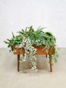 Midcentury Danish plant stand sixties plantenstandaard 'studs'