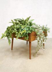 Deens design plant stand plantenbak midcentury modern