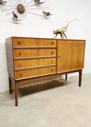Danish sideboard chest of drawers cabinet dressoir vintage ladekast Deens