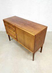 Deens vintage ladekast chest of drawers dressoir cabinet Danish