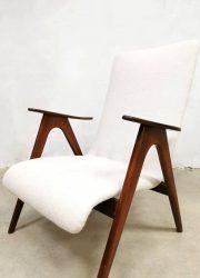 vintage Dutch design Webe Louis van Teeffelen armchair fauteuil