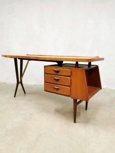 vintage desk bureau Webe Louis van Teefelen