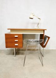 Vintage Dutch design sixties desk bureau minimalism