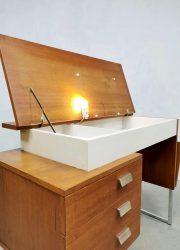 jaren 60 vintage design buro industrieel retro bureau desk Industrial