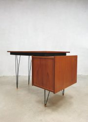 midcentury Dutch design desk Pastoe Cees Braakman bureau