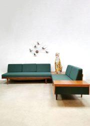Midcentury Svanette sofa daybed bank Ingmar Relling Ekornes Svane