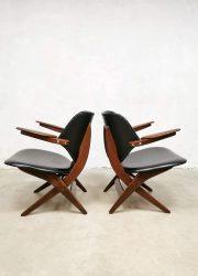Pelican scissor Webe van Teeffelen fauteuil lounge chairs