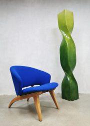 Eclectic eclectisch vintage design vloerlamp floorlamp lamp green groen