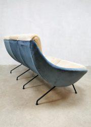 vintage design Italian sofa lounge set midcentury modern