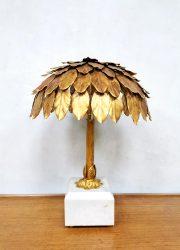 vintage marble gold table lamp hollywood regency tafel lamp