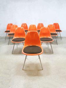 Vintage DSX dining chairs eetkamerstoelen Eames Herman Miller