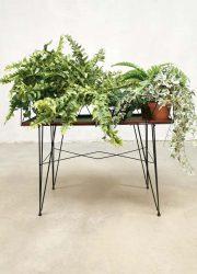 vintage minimalism wire plant stand plantenstandaard 5