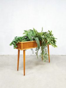Vintage Danish plant stand Deense plantenstandaard