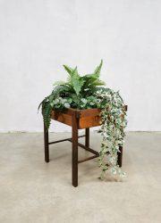 midcentury design plant stand plantenstandaard design