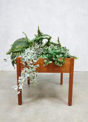 vintage plantenstandaard Danish design plant stand