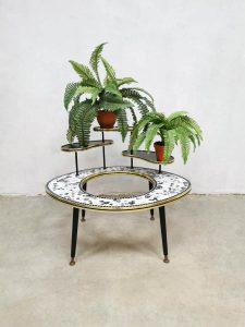 Vintage plant stand planter mozaïeken plantenstandaard 'Mosaic paradise'