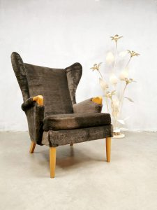 Vintage wingback chair 'Teddy' lounge fauteuil Parker Knoll