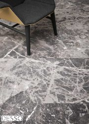 Desso carpet marble black grey tapijt marmer look
