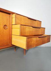 Deens vintage design Danish sideboard dressoir lowboard
