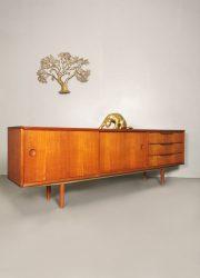 Lowboard dressoir Deens vintage Danish design sideboard