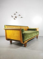 Sofa velvet vintage Pastoe Dutch bank design Braakman Cees MB01