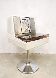 Vintage stereo turntable radio platenspeler Rosita Commander Luxus 1974