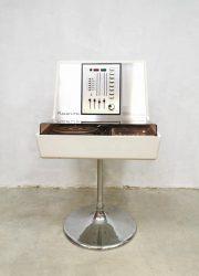 space age platenspeler lp speler stereo Luxus Rosita 1974