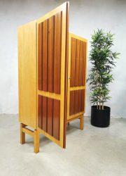 vintage design kast sixties jaren 60 cabinet