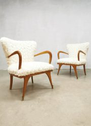 Italian design cocktail chairs armchairs lounge fauteuils Teddy
