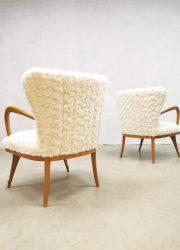 Gio Ponti Paolo Buffa design lounge armchairs
