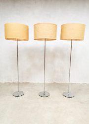 Vintage design floor lamp mad men vloerlamp 'nature'