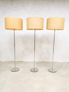 Vintage design floor lamp mad men vloerlamp 'nature'