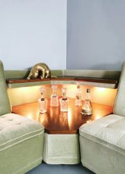vintage retro lounge bank sofa sixties jaren 60 design