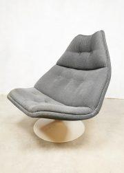 Vintage swivel chair draai fauteuil Artifort Geoffrey Harcourt