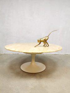 Vintage Italian marble coffee table marmeren salontafel Maurice Burke Arkana