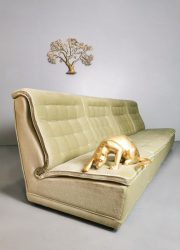 vintage modular lounge sofa modulaire sofa velours velvet desig