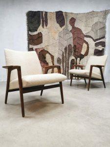 Vintage design 'Ruster' chair lounge fauteuil Yngve Ekstrom Pastoe