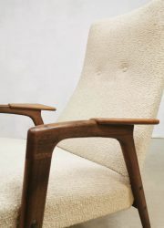 vintage lounge chair Pastoe lounge stoelen chairs Ruster Yngve Ekstrom