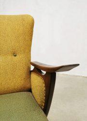 Vintage Deense armchair lounge chair Scandinavian style sixties