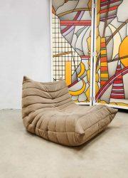 Vintage lounge stoel eenzitter modular chair Togo Ligne Roset M.Ducaroy