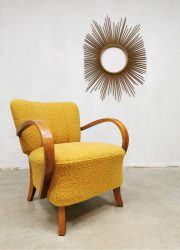 midcentury design Jindrich Halabala chairs lounge fauteuils