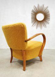 art deco lounge chairs armchair fauteuil Jindrich Halabala