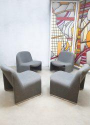 lounge chairs Alky Castelli Artifort stoelen Italian design