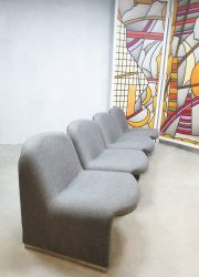 vintage Artifort Castelli lounge chairs Giancarlo Piretti