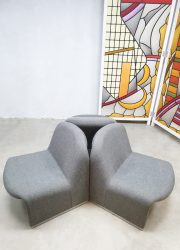 Vintage Castelli Italian lounge chairs Artifort