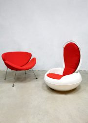 Vintage design space age garden egg chair stoel Peter Ghyczy