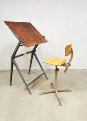Wim Rietveld tekentafel drawing table Dutch design