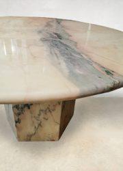 Italiaans midcentury eetkamertafel design dining table marble Italian