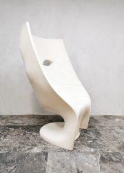Design outdoor 'Nemo' face chair stoel Driade Fabio Novembre